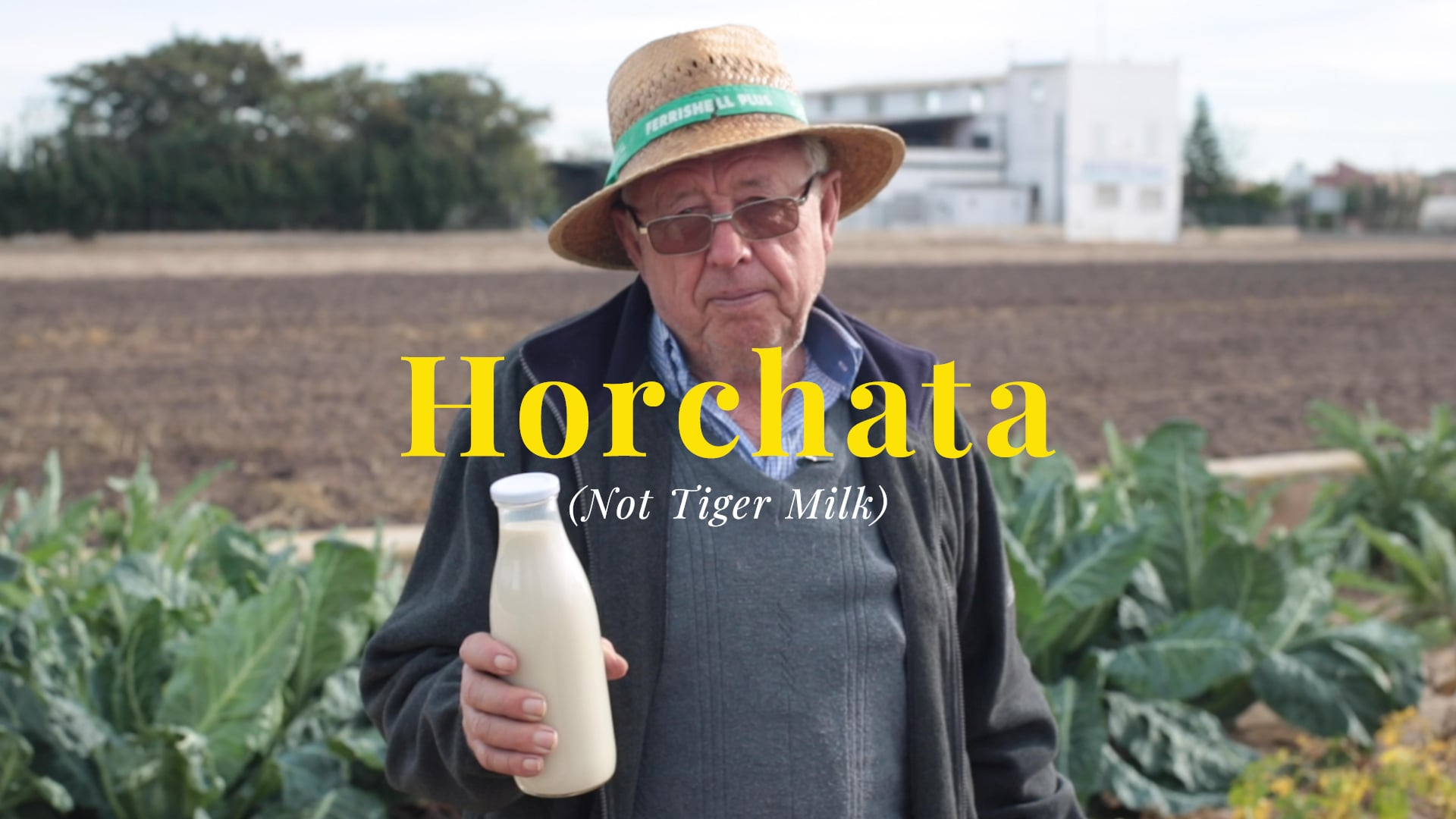 Horchata (Not Tiger Milk)